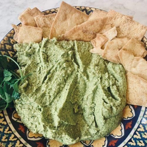 Spring Green Hummus