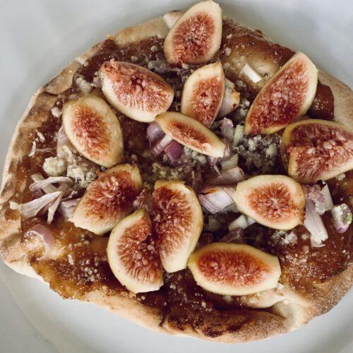 Rosemary Thyme Fig Jam Flatbread